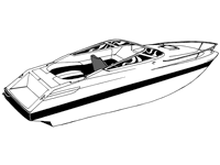 Cuddy cabin boat covers