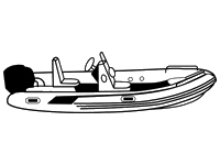 Covers for inflatable boats