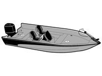 Deck boat covers